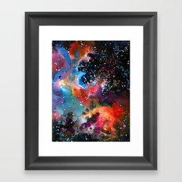 Nadezhda Nebula Framed Art Print