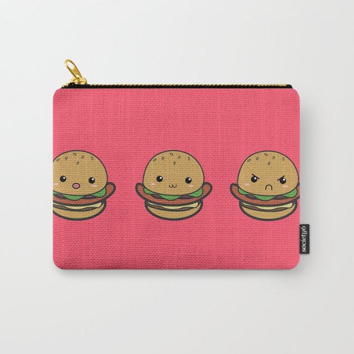 Cute Hamburguer Carry-All Pouch