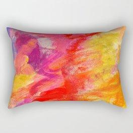 Rose Colored Glasses Rectangular Pillow