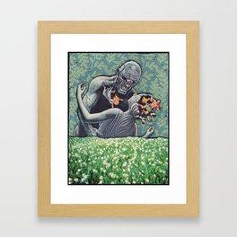 Clash Of The Egos Framed Art Print