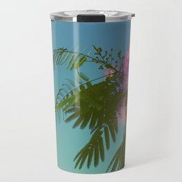 Mimosa Tree in Bloom Travel Mug