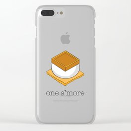 One More S'more Clear iPhone Case