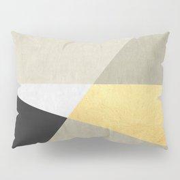 Golden line I Pillow Sham