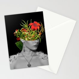 Flower Head Stationery Cards