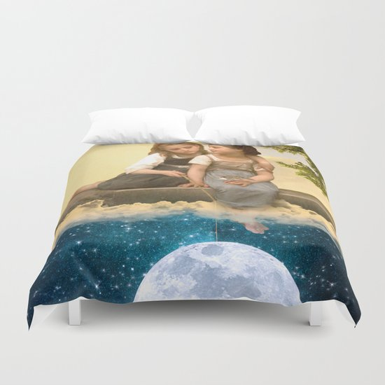 Catching Stars Duvet Cover