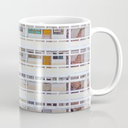 Hong Kong apartment in old district Coffee Mug