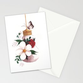 Unexpected Terrarium Moth Stationery Cards