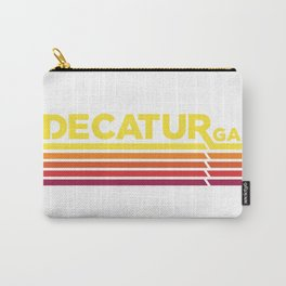 Decatur Where it's Greater Carry-All Pouch