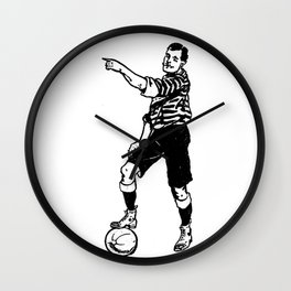 Football Soccer Wall Clock