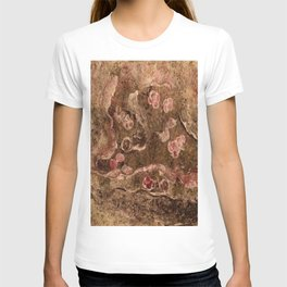 Abstract Textured T-shirt