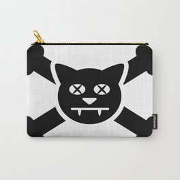 Jolly Roger cat pirate Carry-All Pouch