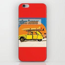 An Endless Summer bummer iPhone Skin