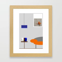 Room Framed Art Print
