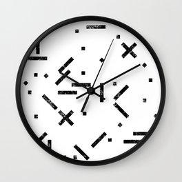 My Favorite Pattern 13 Wall Clock