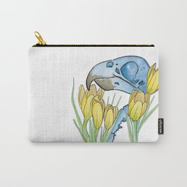 The Parakeet and The Crocus Carry-All Pouch