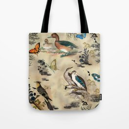 Old Vintage animals n1 print Tote Bag