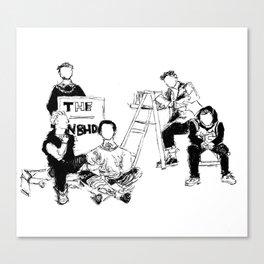 The neighbourhood: band Canvas Print