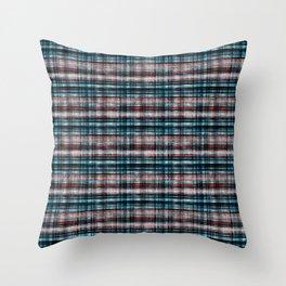 Stylish checkered 2 Throw Pillow