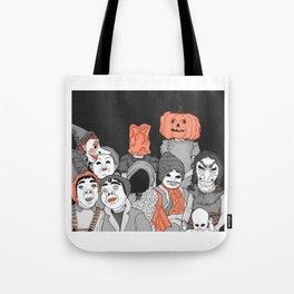 Down a dark, dark street Tote Bag