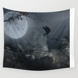 There's A Moon Out Tonight Wall Tapestry