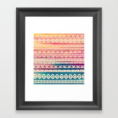 SURF TRIBAL II Framed Art Print