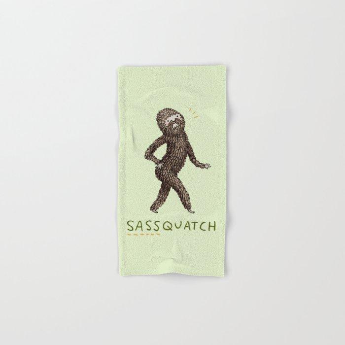 Sassquatch Hand & Bath Towel