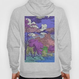 Multicolored Garden Hoody