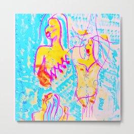 Art inspired by Jessica Mauboy Metal Print