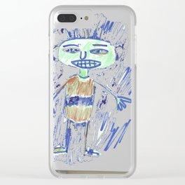 el marciano Clear iPhone Case
