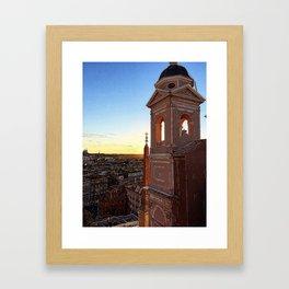 Rome at Dawn Framed Art Print