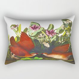 Key-west Dove Rectangular Pillow