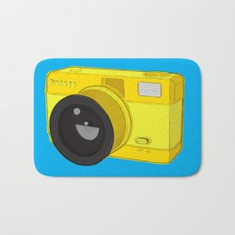 Fisheye Camera Bath Mat