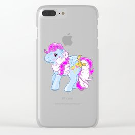 g1 my little pony candy cane Sugar Apple Clear iPhone Case
