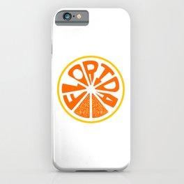 Florida Orange iPhone Case