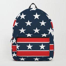 USA flag background. American design #society6 #decor #buyart #artprint Backpack