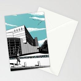 Habima Aqua Stationery Cards