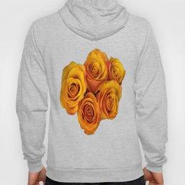 Grenadier Tangerine Roses Hoody