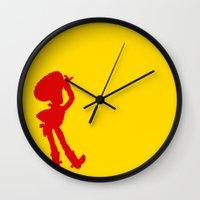 woody Wall Clocks featuring Woody by JessicaSzymanski
