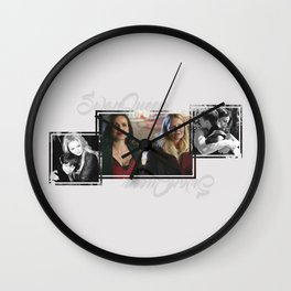 Swan-Mills Family Wall Clock