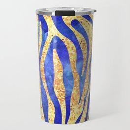 Mosaic Stripes Travel Mug