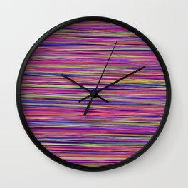 Ocean Colours Wall Clock