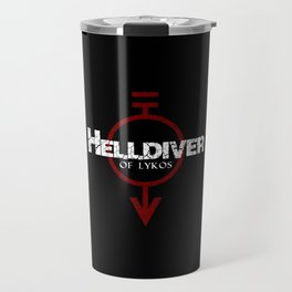Helldiver of Lykos Travel Mug