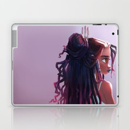 Goddess Locs Laptop & iPad Skin