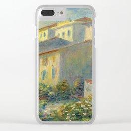 """Pierre Auguste Renoir """"Vue de la poste à Cagnes"""" Clear iPhone Case"""