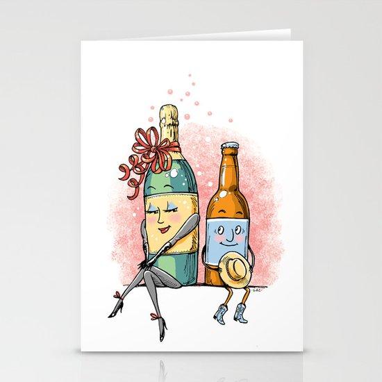 Bottled Romance Stationery Cards