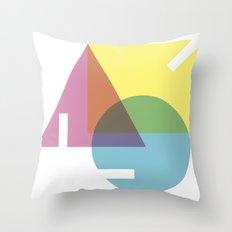 unvollständige Throw Pillow