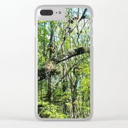Intentions Derailed Clear iPhone Case