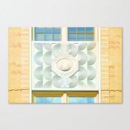 Decorated Concrete 001 Canvas Print