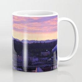 Sunrise over Tacoma Coffee Mug