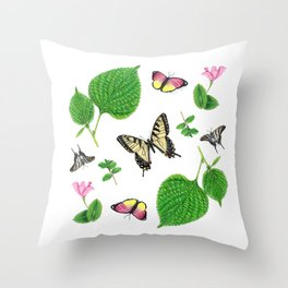 Ode to Springtime Throw Pillow
